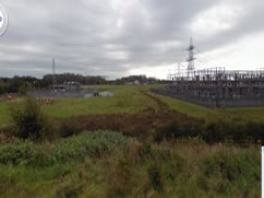 Field where Substation Expansion will be sited