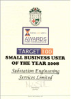 Small Business User of the Year 2008